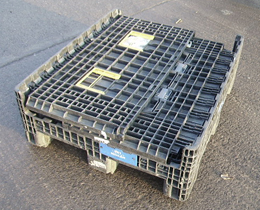 Plastic Pallets Boxes Reconditioned